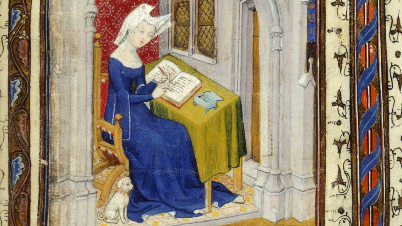"""A medieval love letter: """"You are locked within my heart"""""""