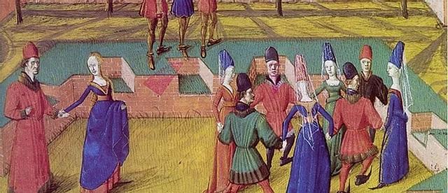 medieval dances carole