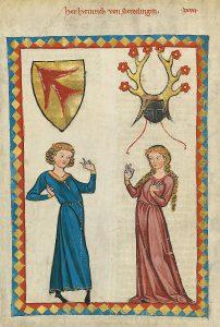 medieval dances couple